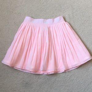 Girls Janie and Jack Pleated Polka Dot Skirt 4